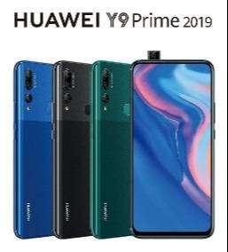 PROMOCION CELULAR HUAWEI Y9 PRIME 2019 GARANTIA 1AÑO NUEVO PEREIRA TECNICEL3G 0