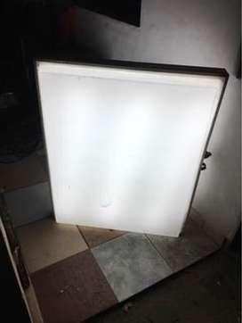 Cartel luminoso para negocio 0,80x 1