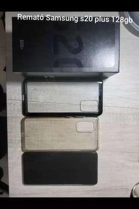 Remató Samsung s20 plus 128gb