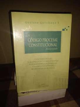 Código Procesal Constitucional interpretado (Gustavo Gutiérrez T.)