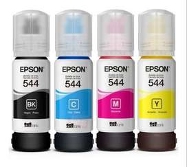 Tinta Epson Original 544 Kit X 4 Colores