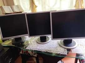 Monitores Samsung 17 pulgadas LCD
