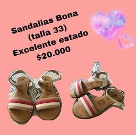 Sandalias niña