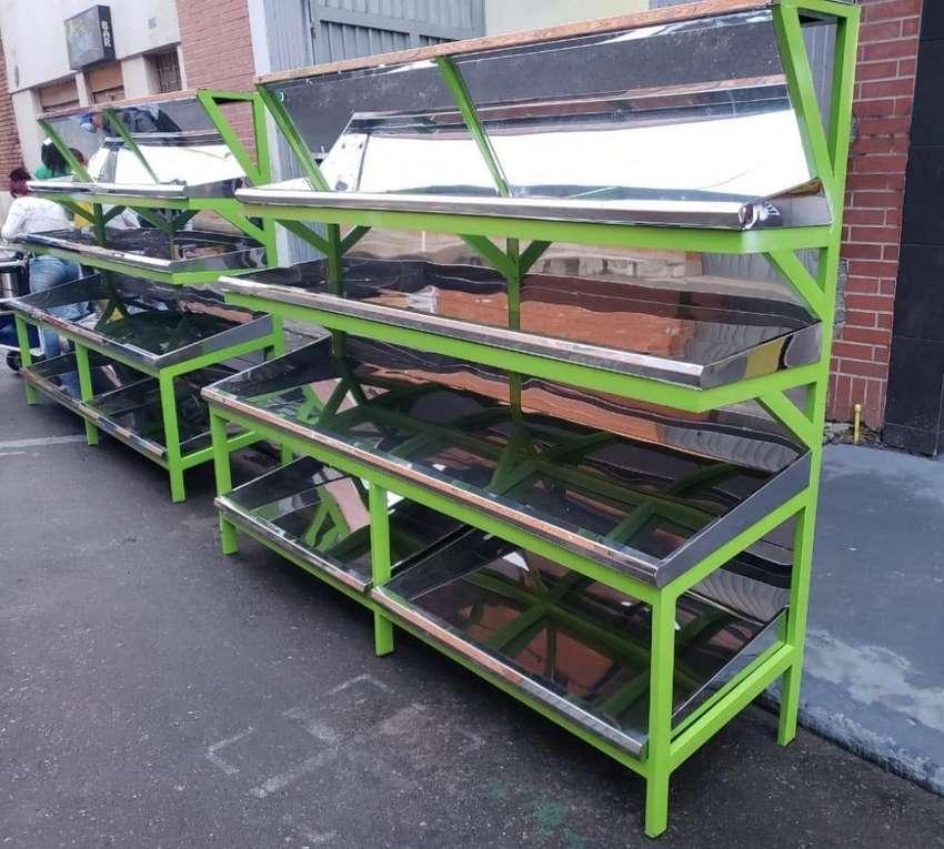 Estante para Verdura en Acero Fabrica 0