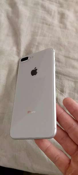 Iphone 8 plus 64gb color blanco garantía de imei y factura