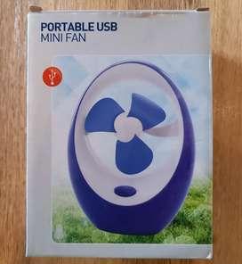 Ventilador portatil de escritorio USB