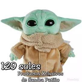 Baby Yoda Peluche Mandalorian  Mattel 23cm