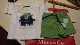 Conjunto Mini Mimo 06 Meses Nuevo