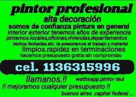 PINTOR. Profesional