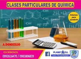Nivelación de  química