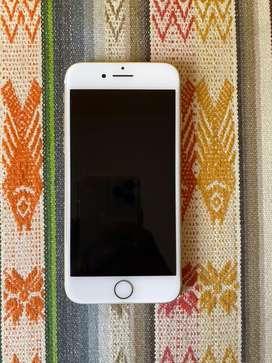 iPhone 7 256GB dorado, 10/10, desbloqueado, como nuevo