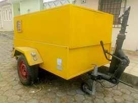 Compresor de aire tipo remolque