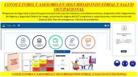 Asesoría y Consultoría en Seguridad y Salud Ocupacional