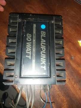 Planta de sonido de 4 canales  blaupunkt bpa 420 4x20 watt amplifier