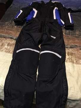 Vendo traje completo para viajar en moto!!!