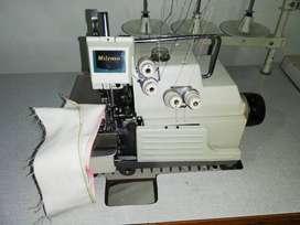 Maquina Fileteadora Milenio GN 800 de 5 hilos puntada de seguridad en buen estado