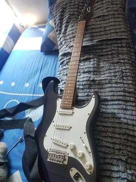 Guitarra electrica warrior
