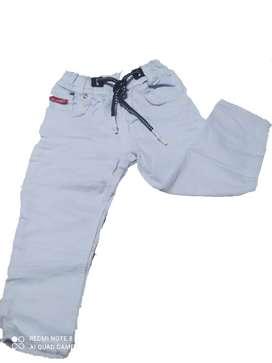 Jeans Jogger Licrado Para Niño