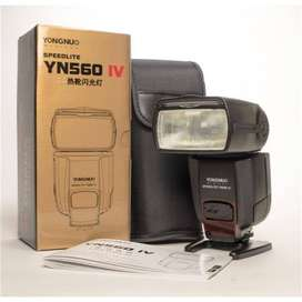 Flash Yongnuo Universal YN560IV Speedlite para Canon Nikon Sony ETC