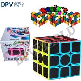 Cubo Rubik 3x3 Fibra De Carbono Ultra Rapido Magnetico SpeedCube
