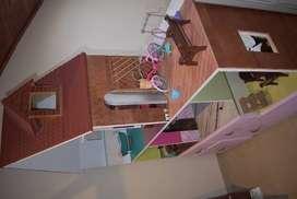 Casa de  Muñecas con cajones