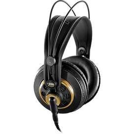 Auriculares estéreo semi profesionales AKG K240 Studio
