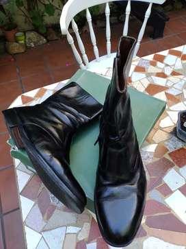Liquido botas  cuero legítimo