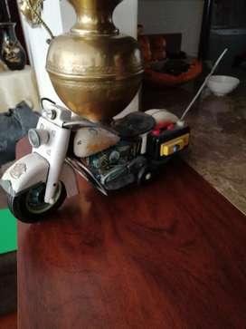 Moto antigua Harley dadvison juguete antiguo