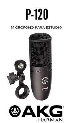 Microfono de condensador akg