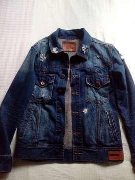 chaqueta de jean Denim