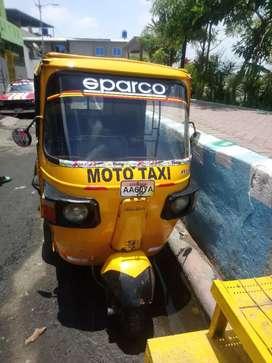 Moto taxi homologada con matricula y placa