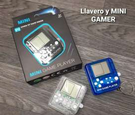 Llavero mini gamer tetris
