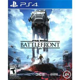 Star Wars Battlefront Playstation 4 Ps4, Físico