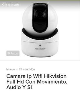 Camara  Hikevision/360/micro/altavoz