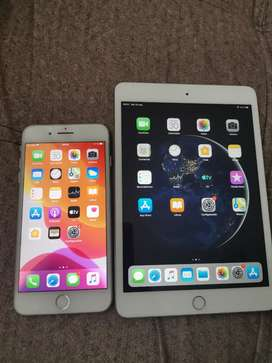 Vendo o cambio dos productos de Apple con detalles .. Iphone 7 plus de 128gb y Ipad mini 3.. Leer descripción!!