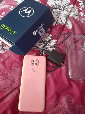 Motorola G9 plus rosa
