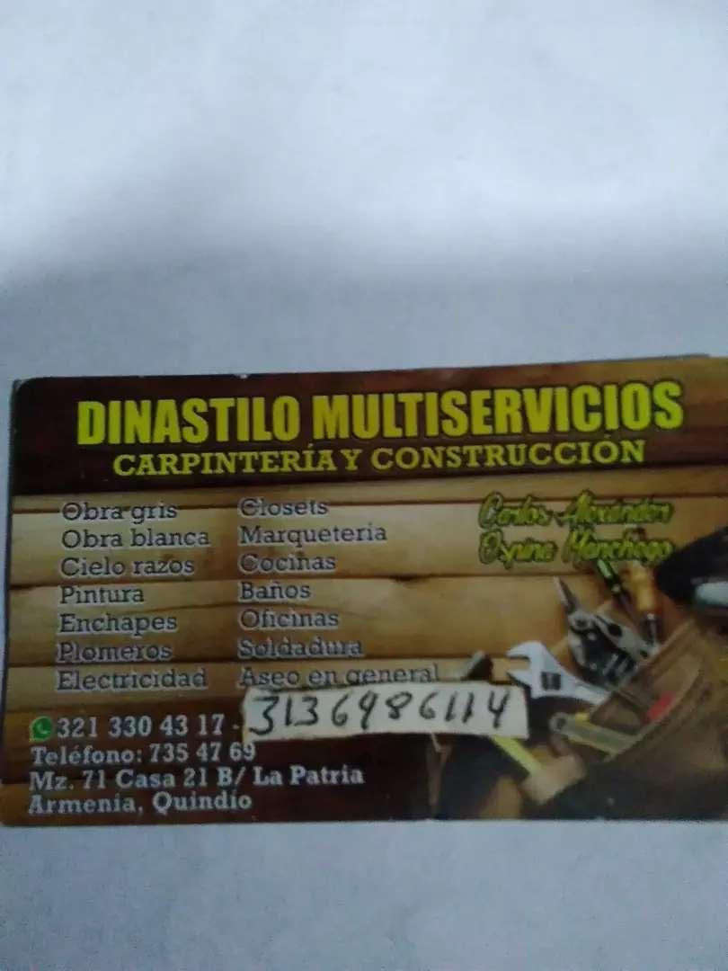 Todo en mantenimiento obra blanca y obra negra carpintería puertas clóset cocinas carpintería metálica y general 0