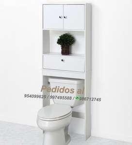 Muebles para baño espaciador de puerta abatible zenna