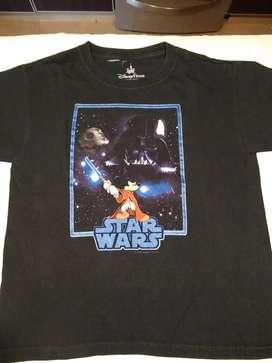 Remera Disney ORIGINAL..Star wats talle8