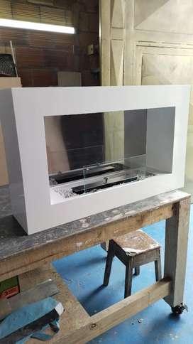 Pintor de muebles blanco catalizado