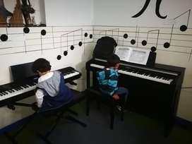 enseñanza en  piano, preparatorio  musical