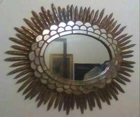 Espejo Sol Peruano Antiguo