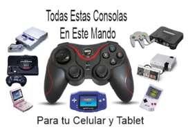 Game Pad con 11 Emuladores + Full Juegos