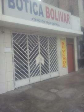 Lote comercial para farmacias/consultorios Chimbote