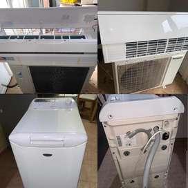 Aire Frio / Calor panasonic de 6500  frigorias clase A + Lavarropa Dreams 8kg