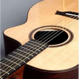 Clases de guitarra y bajo a domicilio y virtuales