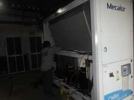 servcio tecnico de climatizacion reparacion de chiller, torres de enfriamiento, vrf tableros de potencia y control