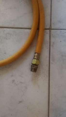 GRAN REMATE DE MANGUERA GAS AMARILLA 1/2'' X 3/8 PVC AMARILLO
