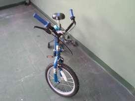 Bicicleta Varon Rodado 16 Bmx La Mas Linda Y Cuidada