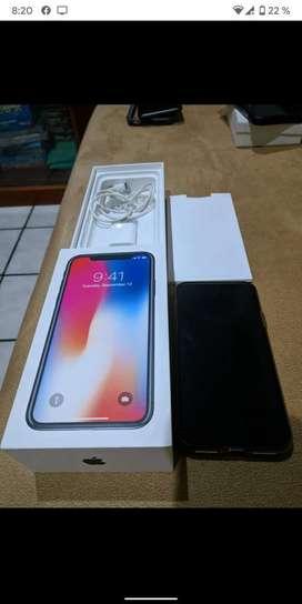 Vendo iPhone X 64gb Nuevo